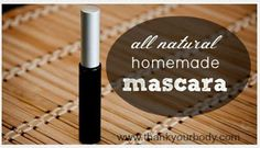 Homemade All Natural Mascara