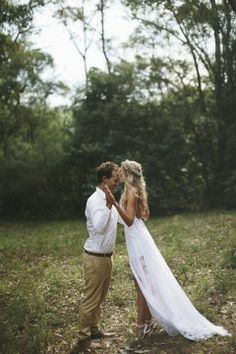 Boho wedding dress b