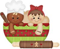 Cute Ginger Clipart