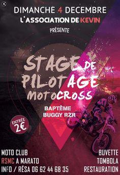 stage-de-pilotage-de-moto-cross le 4 décembre à Marato
