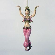 Sexy Girl DANCER Arabian Harem-style Figural Ornament Christmas Holiday Decor