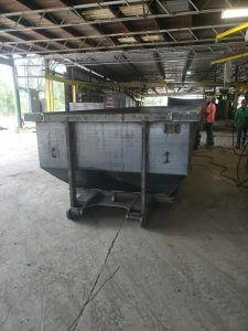 New Dumpsters Built For Wilson S Containers Lake City Florida Cedar Manufacturing In 2020 Lake City Florida Dumpsters Lake City