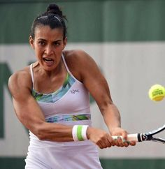 Veronica Cepede Royg at Roland Garros French Open with a career best. She is wearing Tonic Active Summer Collection. Tennis Dress, Tennis Clothes, French Open, Lifestyle Clothing, Dress Outfits, Dresses, Skort, Summer Collection, Veronica