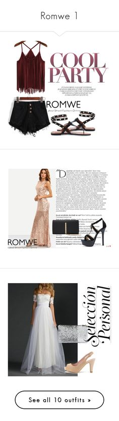 """Romwe 1"" by ahmetovic-mirzeta ❤ liked on Polyvore featuring Balmain"
