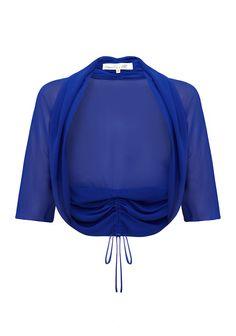 Amelia Rosa Shrug Blue Amelia, Girl Birthday, Personal Style, Dressing, Sweatshirts, Blouse, Long Sleeve, Sleeves, Sweaters