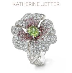 """Lily Ring"" by the lovely Katherine Jetter."