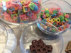SWEET! 3D printed candy! *(as seen @ CES '14)