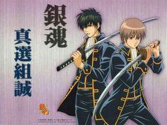 #gintama #manga #anime #sinsengumi #okita #hijikata