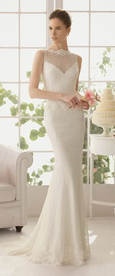 Aire Barcelona 2015 Bridal Collection - Part 2 - Belle The Magazine You should look at these - some are gorgeous!