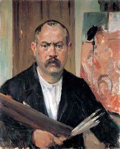 Lovis Corinth  Self Portrait  1900