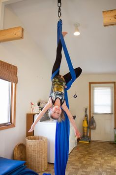 Craft Knife: Our DIY Aerial Silks Rig