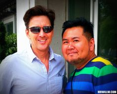 Andrew McCarthy and me.