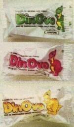 DinOvo (que eu chamava de Dino-ovo), o chiclete em formato de ovinho de dinossauro!!!