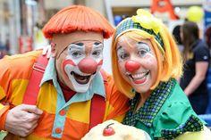 Kelly Ballagh and wife Becky Ballagh! Advanced Clowns for Ringling Bros. and Barnum & Bailey circus! #Clowns #Circus #HusbandAndWife