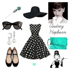 Audrey Hepburn by geminae on Polyvore featuring Acne Studios, Givenchy, Elizabeth and James, Tiffany & Co. and vintage