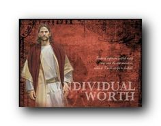 Young Women Values - Individual Worth Young Women Handouts, Young Women Values, Young Women Activities, Liz Lemon Swindle, Individual Worth, Lds Art, Christian Pictures, Personal Progress, Girls Camp