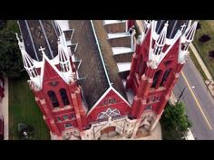 MUST SEE: Detroit's historic churches from the heavens