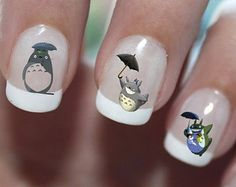 Tortoro Disney Studio Ghibli Nail Art Water Transfer Decal - Waterslide Paper - Water Slide Paper