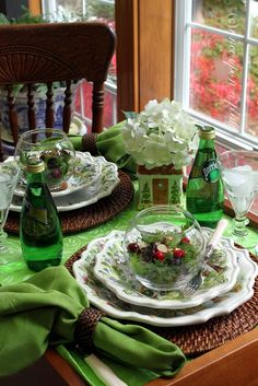 Once Upon a Plate: A Tiny Table for Two ~ Tablescape Thursday