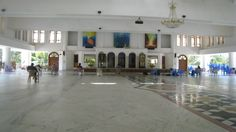 The one and only purpose of this huge is hall is for Meditation ~ Babuji memorial ashram