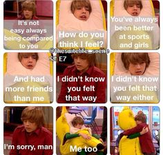 Suite Life on Deck Disney Facts, Disney Memes, Disney Quotes, Zack Et Cody, Sweet Life On Deck, Old Disney Shows, Old Disney Channel, Phineas Y Ferb, Disney Theory