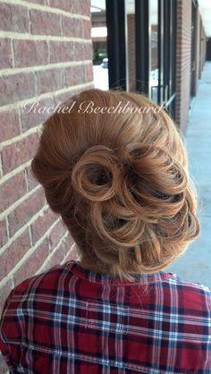 Formal hair by Stylist Rachel Beechboard