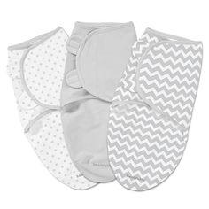 """Summer Infant SwaddleMe 3pk Chevron & Stars (SM) - Summer Infant  - Babies""""R""""Us"""