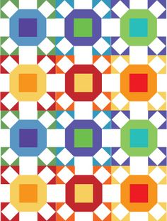 Don't Call Me Betsy-Radiant Ring Block Tutorial, this looks like a fun quilt