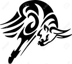 Tribal tatto taurus