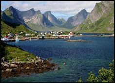 dream vacation= Lofoten, Norway. warm water beaches in the arctic circle. midnight sun in the summer.