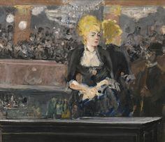 classic-art:  The Bar at Folies-BergèreEdouard Manet, 1881