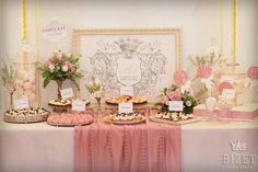 Ideas for Girl Baptism - blush pink and cream Girl Baptism, Baptism Ideas, Candy Table, Pink Candy, Sweet 16, Blush Pink, Table Decorations, Crafts, Bar