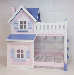 Imagine THAT! Playhouse  The Dollhouse Bunk Bed