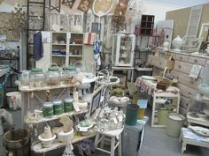 vintage antique shop full of shabby goodies!