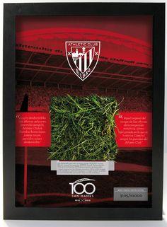 Marco Césped San Mamés Edición Limitada - Limited Edition Framed San Mames Pitch Grass