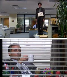 This is one of those things that literally made me laugh out loud when I came across it. No words necessary, Michael Scott.