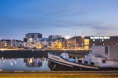 Côté Docks, Le Havre MOA : #Nacarat - Architecte : P. Dubus - Photographe : S. Grazia #Logements #docks #Normandie #architecture