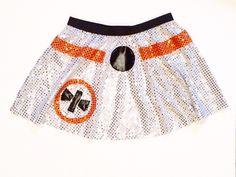 BB8 Inspired running skirt by RockCitySkirts on Etsy https://www.etsy.com/listing/256458259/bb8-inspired-running-skirt