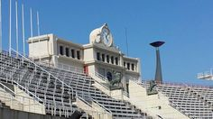 Olympisch stadion ( barcelona) Barcelona Spain, Happy Life, Louvre, Building, Travel, Cities, The Happy Life, Viajes, Buildings