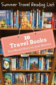 Nothing beats the feel of a good book in your hands, and sometimes the best way to inspire wanderlust is with a great travel read.