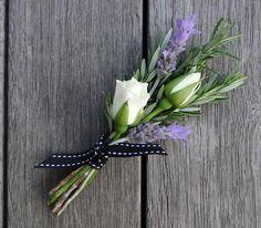 Goth Ceremonies Wedding bouquets lavender rosemary 52 ideas Wedding Flowers - The Ultimate Decoratio Wedding With Kids, Perfect Wedding, Our Wedding, Wedding Themes, Wedding Decorations, Wedding Ideas, Button Holes Wedding, Spray Roses, Bridal Flowers