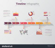 Time Line Infographic. Vector Illustration - 238704139 : Shutterstock