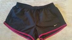 Women's Nike Dri-Fit Tempo Running Shorts black and fushia size medium  | Clothing, Shoes & Accessories, Women's Clothing, Athletic Apparel | eBay!