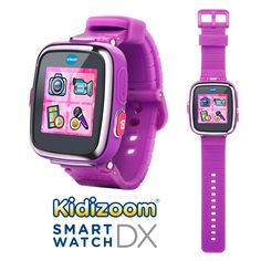 VTech Kidizoom Smartwatch DX - Special Edition - Floral Swirl with Bonus Vivid Violet Wristband   VTech 2nd generation Kidizoom Smartwatch DX is an even smarter watch for kids with more fun games and activities! Perfect for young Read  more http://shopkids.ca/toys-videos-games/vtech-kidizoom-smartwatch-dx-special-edition-floral-swirl-with-bonus-vivid-violet-wristband  Visit http://shopkids.ca to find more categories on kid review