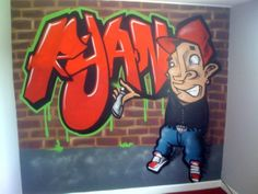 The Number One resource for graffiti bedroom ideas for kids, teens and discerning adults, Kids bedroom ideas