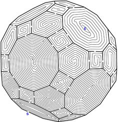 Hard Mazes - Best Coloring Pages For Kids Mazes For Kids, Activities For Kids, Stem Activities, Labyrinth Design, Labyrinth Maze, Hard Mazes, Printable Mazes, Free Printable, Halloween Maze