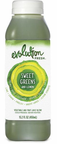Evolution Fresh Green Juice...for when you do not have time to juice at home