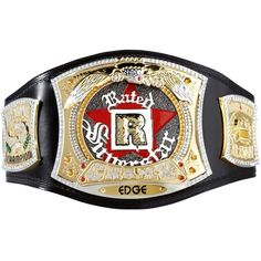 THIS IS A MUST HAVE!!! ... but i'll have to BUY IT MYSELF!    WWEShop: Edge Rated R Spinner Replica WWE Championship Title Belt