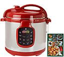 CooksEssentials 6 qt. Round Digital Stainless Steel Pressure Cooker - K41143.   This bad boy came into my life last weekend.  I am head over heels in love, y'all.  Seriously.  I have four crockpots and a rice cooker and three huge stockpots that I don't need any longer.