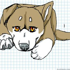 Pup by Blackbear #gif #anim #animation #flipanim #flipbook #drawing #draw